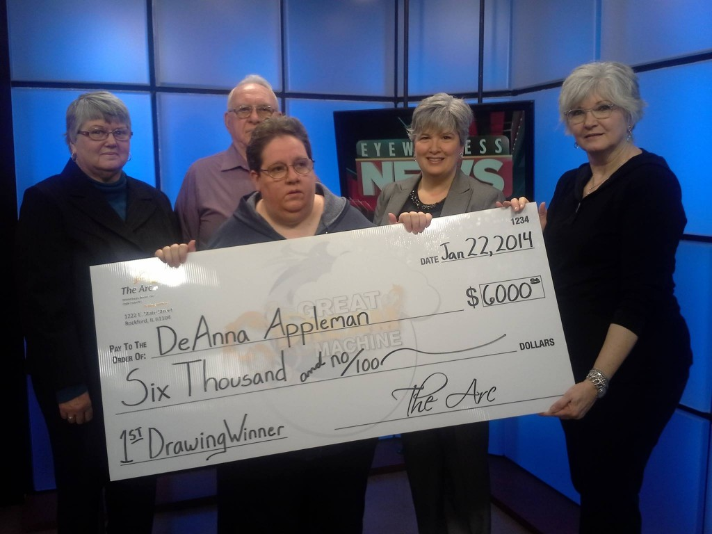 DeAnna Appleman 2014 $6000 winner