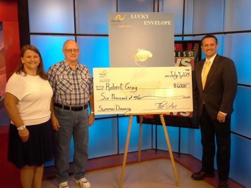 Robert Gray 2014 $6000 winner