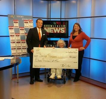 Sandra Thompson 2015 $11,000 winner