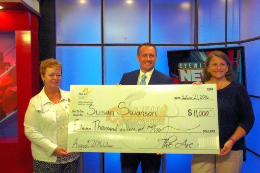 Susan Swanson 2016 $11,000 Winner!