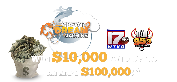 The Arc Great Dream Machine $10,000 sweepstakes